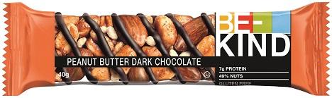 Die Be-Kind-Riegel sind in vier Varianten erhältlich, u.a. Peanut Butter Dark Chocolate (Quelle: Mars Wrigley)