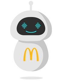 "McDonald's hat mit dem ""Check-Bot"" einen neuen digitalen Kollegen (Foto: McDonald's)"