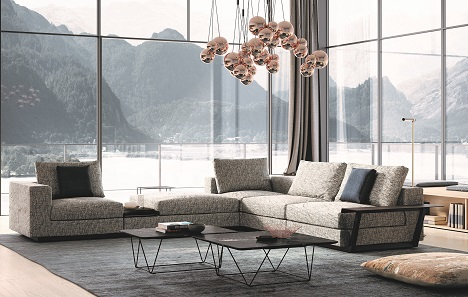 Living Landscape heißt diese Sitzlandschaft, die das Wiener Designbüro EOOS für Walter Knoll designet hat (Foto: Walter Knoll)
